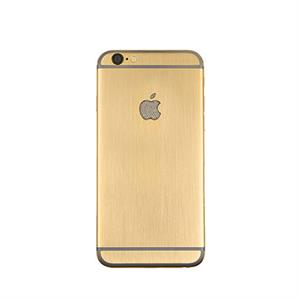 iPhone 6S+ 128 Gb Gold Plated Brush Logo Solid Gold and Diamond