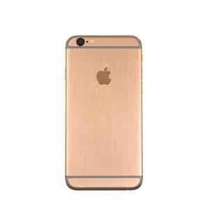 iPhone 6S 128 Gb Gold Brush with Solid Gold Apple Logo Polished