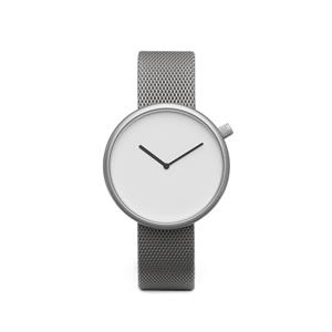 Ore Watch Matte Steel on German-made, Milanese Mesh